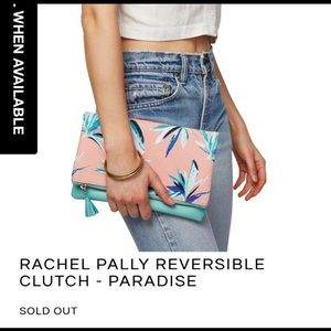Rachel Pally reversible clutch (PARADISE) (NWOT)